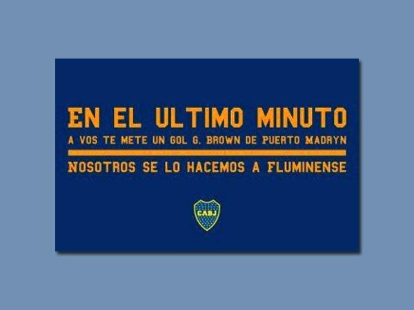 Afiche de Boca por Copa Libertadores -