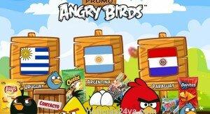 Promoción Lays Angry Birds: Productos que participan y premios