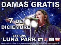 Damas Gratis en el Luna Park 2012: Fecha y precio de las entradas