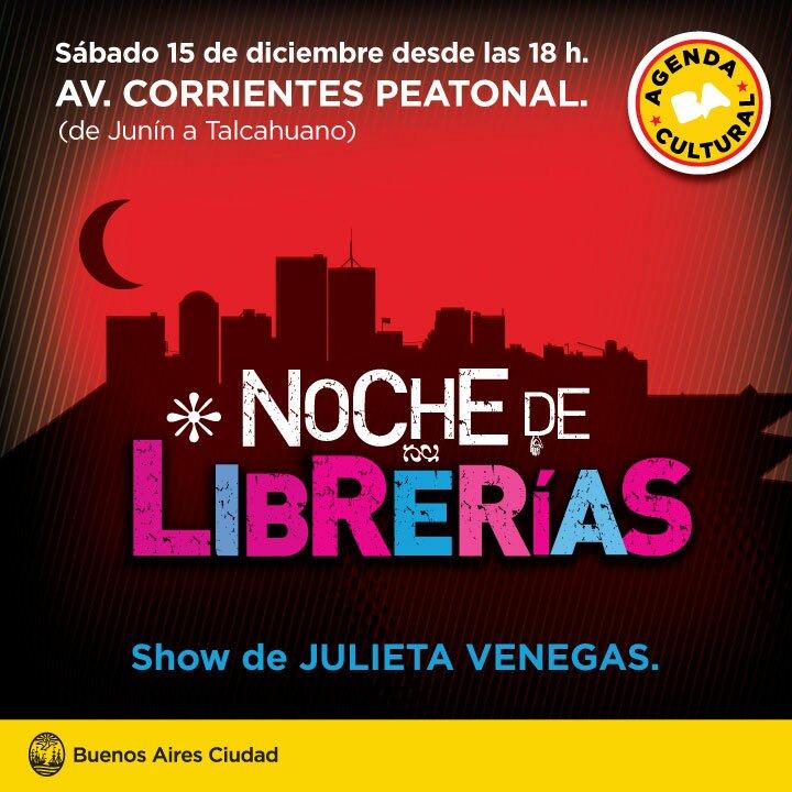 La Noche de las Librerías 2012: Agenda y horarios