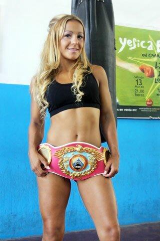 Fotos de Yésica Boop: La boxeadora sexy