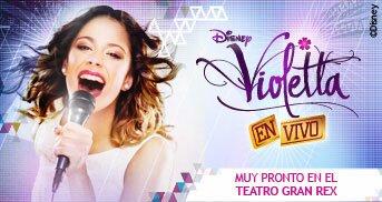 Violetta en el Gran Rex 2013: Entradas