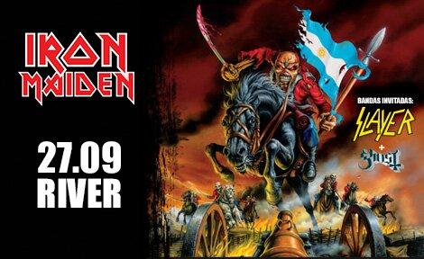 Iron Maiden en Argentina 2013: Entradas y precios
