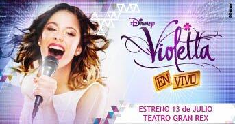 Violetta en el Gran Rex: Agosto de 2013