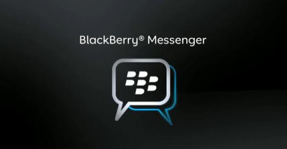 Blackberry Messenger para iPhone y Android en breve