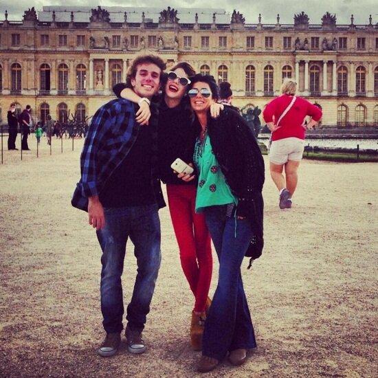 Martina Stoessel en Europa, las fotos del viaje de
