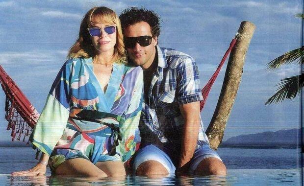 Gloria Carrá y Luciano Cáceres en Rio: Fotos de las vacaciones románticas
