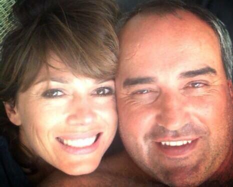 Foto íntima de Coki Ramírez y Pato Cabrera: Romance viento en popa