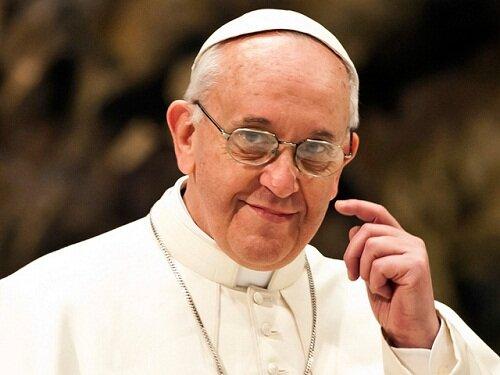 El mensaje gracioso del Papa Francisco