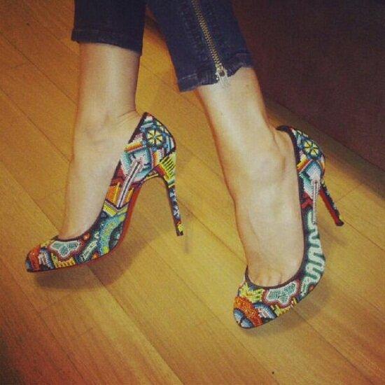 Adivina cuanto pagó Luciana Salazar por un par de zapatos