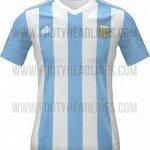 camiseta argentina para la copa américa